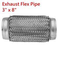 """54mm 2 1//8 /""""Pouce X 500mm 304 Acier Inoxydable 1.5 mm Mural Tube Tuyau d/'échappement réparation"""