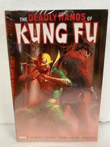 MARVEL DEADLY HANDS OF KUNG FU OMNIBUS VOL 1 Hardcover HC - NEW MSRP $125