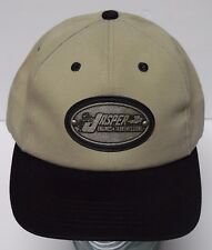 JASPER ENGINES & TRANSMISSIONS Advertising Tan Black SNAPBACK HAT CAP
