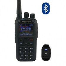 Anytone  AT-D878UV PLUS  + PTT BLUETOOTH Radio Dualband DMR/FM con VFO & ROAMING