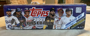 2021 Topps Baseball Complete Set Factory Sealed Purple Target 1-660 + Rookies