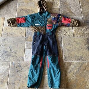 Rare, Vintage Obermeyer Ski Suit, Juniors size 12, Women's Petite Small