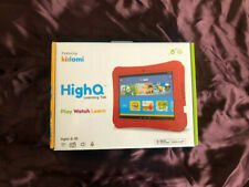 """Kidomi HighQ 8"""" Learning Tablet : 16 GB Red -- Brand New -- Sealed"""