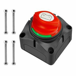 12-48V Battery Switch Marine Boat Master Power Cut Off Disconnect Isolator
