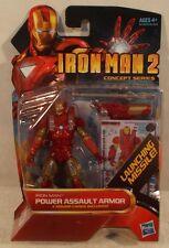 "Marvel Universe 3.75"" Iron Man 2 #04 Power Assault Armor Hasbro (Mint On Card)"