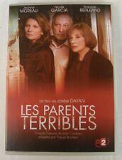 DVD LES PARENTS TERRIBLES - Jeanne MOREAU / Nicole GARCIA / François BERLEAND