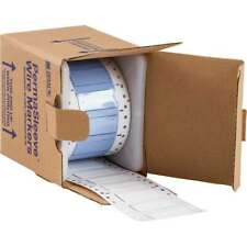 Roll of 500 Brady PermaSleeve Polyolefin Wire Marking Sleeves PS-500-2-WT-S-2