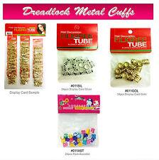 Magic Collection Dread lock Metal Cuffs Hair Decoration Filigree Tube for rastas