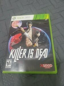 Killer Is Dead (Microsoft Xbox 360, 2013) Complete & Tested