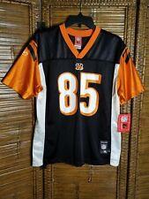 New Reebok NFL Cincinnati Bengals Chad Ochocinco Johnson #85 Jersey Youth XLarge