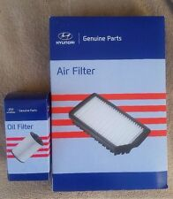 Genuine Hyundai Santa Fe DM Service Kit- Oil filter Air filter, Sump plug gasket