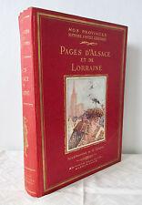 Histoire, Contes, Légendes - Pages d'Alsace et de Lorraine. Illustrations Conrad