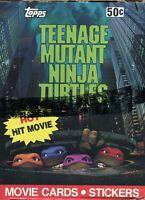 Teenage Mutant Ninja Turtles Movie Series 1 Closeout Card Box 36 Packs Topps