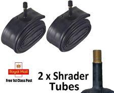 """CYCLE INNER TUBES 16"""" x 1.75/2.125 SCHRADER VALVE BIKE - 2 PACK"""