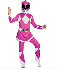 Mighty Morphin Power Rangers Pink Ranger Deluxe Child Costume Size Medium 8-10