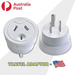 Travel Adaptor from Australia & New Zealand travel to USA