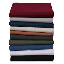 Renforce Bettlaken Haustuch Bettuch 100% Baumwolle Hotel ohne Gummizug Leintuch