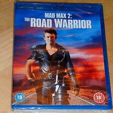 Mad Max 2: The Road Warrior [Blu-ray] [1985] [Region Free] Brand New & Sealed