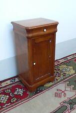 comodino in legno di ciliegio fine XIX secolo