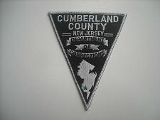 New  Cumberland County New Jersey Department. of Corrections/Police Sleeve Patch