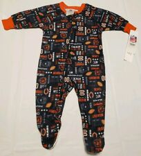 CHICAGO BEARS 12 OR 18 MONTHS U PICK INFANT SLEEPER NFL FOOTED PAJAMAS NEW!