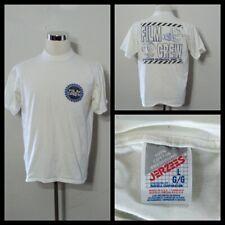 Victor Duncan Film Crew T-Shirt Men's Lg. White Short Sleeve Crewneck Inv#S9546