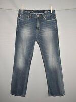 TOMMY BAHAMA $125 Medium Wash Standard Straight Leg Denim Jean Men's 34 X 30