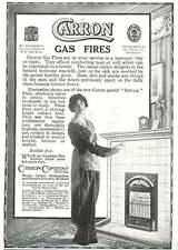 WW1 Carron Gas Fires Silent Stella Ad