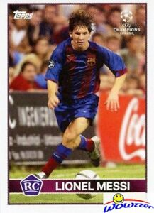 LIONEL MESSI Topps Now the LOST ROOKIE Card 2004/05 FC Barcelona UK EXCLUSIVE!
