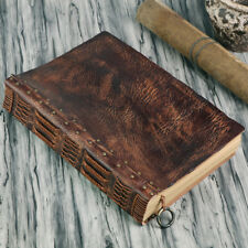Handmade Leather Gift Sketchbook Retro A4 Thick Business Notebook Big Journal