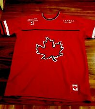 Canada Athletics True North Strong & Free Sewn Stitched Jersey Adult Small / P