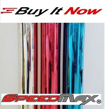 """RED BLUE SILVER WINDOW TINT CAR HOME COMMERCIAL FILM 2PLY 15% 36"""" 24"""" x 7´10´14"""