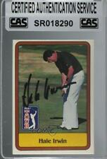 1981 Donruss Golf Stars Hale Irwin #38 CAS Certified Sealed Auto