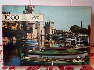 Raphael Gardasee Italy 1000 pce Jigsaw Puzzle Complete Lake Garda Vintage Rare