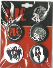 CURE great circle BUTTON BADGE PACK - SET OF 4 official ex tour merchandise