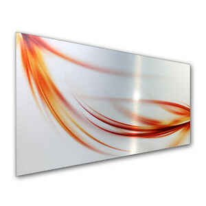 Abstrakt Metallic Fliesenspiegel Spritzschutz Küchenrückwand Küche Kochen Herd