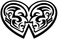 GEMINI TRIBAL DESIGN CAR DECAL STICKER