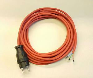 Geräteanschlusskabel SIHF Silikon Wärmebeständig 3x1,5 3m rot/braun