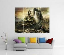BUDDHA MEDITATING GIANT FIGURE STATUE ORNAMENT MEDITATE WALL PHOTO PRINT POSTER