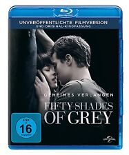 50 CINCUENTA SHADES OF GREY - Secreto Requieren DAKOTA JOHNSON BLU-RAY NUEVO