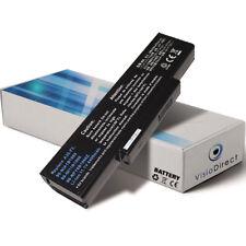 Batterie type BTY-M66 BTY-M67 M740BAT-6 1034T-003 CLEVO W760K-C 4400mAh