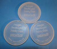 Vintage Pringles Newfangled Potato Chips  LIDS Clear Plastic LIDS ONLY Lot of 3