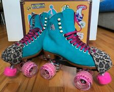 Moxi Lolly Roller Skates SIZE 7 (fits women's size 8-8.5) RARE JADE COLOR!