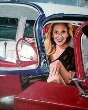 Rockabilly 16 drawing in colored pencil 14x17 art Signed and Dated 2010