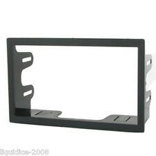 CT24VW11 VOLKSWAGEN PASSAT 1996 to 2005 BLACK DOUBLE DIN FASCIA ADAPTER PANEL