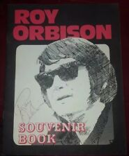 (Rare) One of a kind..Signed By Roy Orbison Himself Souvenir Book (Pretty Women)