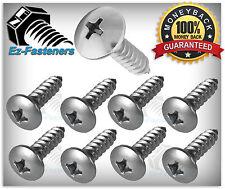 "Sheet Metal Screws Truss Head Phillips Drive Stainless Steel #8 x 1/2"" Qty 100"