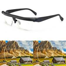 Dial Adjustable Glasses Variable Vision Zoom Lens Focus For Distance Reading