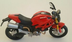 1:12 Ducati Monster 696 Assembled Motorcycle Bike Diecast Model Toy  Red