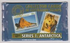 (K101-1) Old stock Au collector cards Antarctic series I, 8cards to a pack (A)